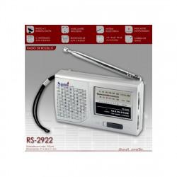 Radio de bolsillo sami 2 bandas (mod. 2922)
