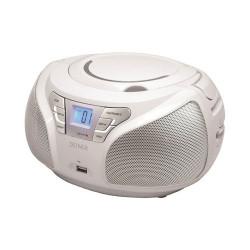 Radio Portátil Denver TCU-206 Blanco