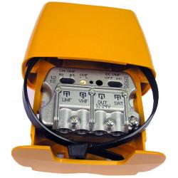 Amplificador mástil 12..24V 3E/1S U-Vmix-FImix FILT. AUTO 561601