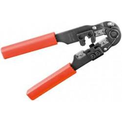 Alicates metálicos profesionales para engastar. Crimpadora Electro Dh Mod. 46.155/10