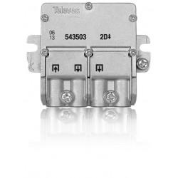 Repartidor 5-2400MHz EasyF 3D 8,5/7,5dB interior 543603