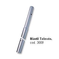 Mastil antena encajable RPR 2,5m 3008 Televes