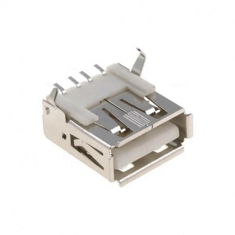 conector usb tipo a hembra para soldar en cable mod 3362