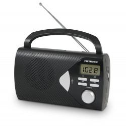Radio portátil FM Y AM DIGITAL Negro METRONIC 477205