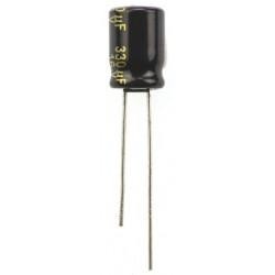 Condensador electrolítico 330uf 16V