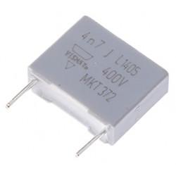 Condensador de poliester MKT 4K7