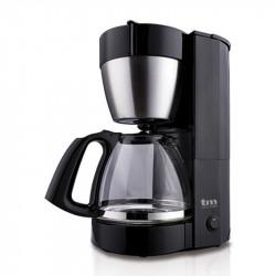 Cafetera negra de jarra filtro 1.25L