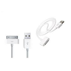 CABLE USB CARGADOR Y TRANSMISION DATOS IPAD 2 Y 3 IPHONE 4G 4S IPOP NANO (VIDEO)