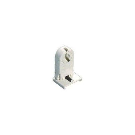 Portámparas para fluorescente blanco 2A 250V. Solera. Mod. 802