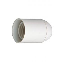 Portalámparas E27 provisional de obra. Blanco. Mod. NR42-7434/BL