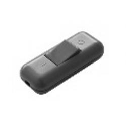 Interruptor bipolar pasante de 10A de color blanco, contactos de plata Electro DH Mod. 11.562/B