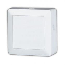 Caja distribuidora. 3 vías 75 Ohms 4dB Blanco (Splitter) Electro DH Mod. 10.508/3
