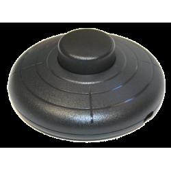 Interruptor de pie. 2A/250V. Color negro Electro DH Mod. 11.645/N