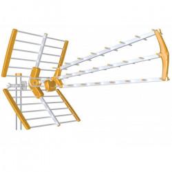 Antena Tecatel triple UHF Mandarine Fold