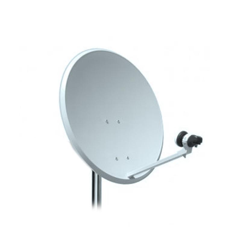 Antena parab lica de 60 cm tecatel con lnb ecobadajoz for Antenas parabolicas en granada