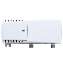 AMPLIFICADOR RF+FI 18/25 dB 110/115 dBuV  TV+SAT