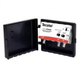 Amplificador de mástil Tecatel 405 40dB MAX, UHF+UHF, LTE