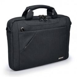 Maletín clásico Negro, maletines para portátil 15-16 PULGADAS