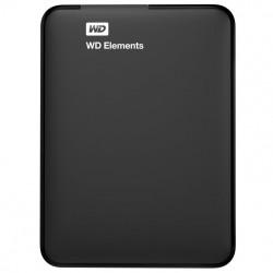 Disco duro externo Western Digital Elements Portable USB Type-A 3.0 (3.1 Gen 1) 1000GB Negro