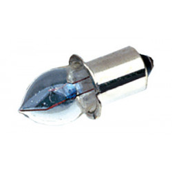 Bombilla de filamento prefoco 2.4V 0.5A. Mod. PRE24V05