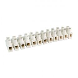 Regleta blanca conexión eléctrica 16 mm2 Solera. Mod. 92016