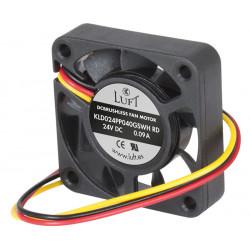 Ventilador con cojinete de fricción 40x40x10. Mod. VEN030
