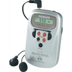 RADIO DIGITAL DE BOLSILLO THOMSON RT212B +AURICULARES