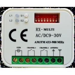 Receptor Universal RX Multi 300-900 MHz