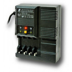 Cargador de pilas R3-R6 9V Con Descargador