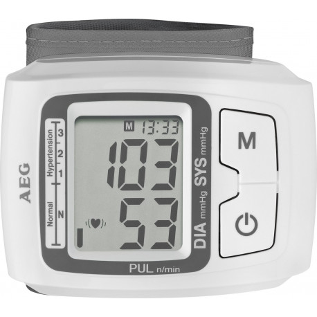 Tensiómetro muñeca AEG. Mod. BMG5610