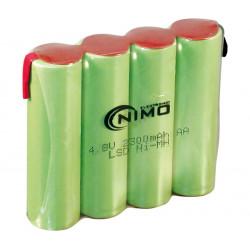 Batería recargable AA/RC6 NI-MH
