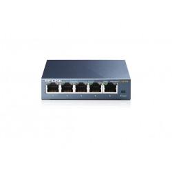 Switch para sobremesa con 5 puertos a 10/100/1000 Mbps