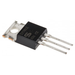 Regulador lineal 7812 +12V/1A TO220