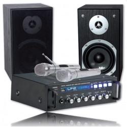 LTC KARAOKE-STAR4, Conjunto Karaoke 2 x 75 W Bluetooth