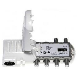 Amplificador de Vivienda 4 salidas Tipo F Mod 552340