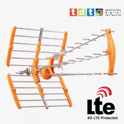 ANTENA UHF TRIPLEX DIGITAL HD CON FILTRO LTE