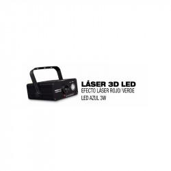 Laser 3D LED. AMS