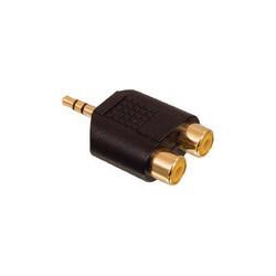 Adaptador 2 RCA hembras a jack 3.5mm macho