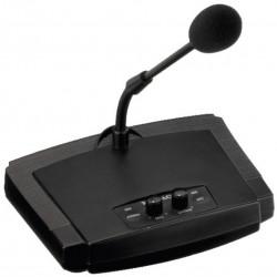 Micrófono de sobremesa para megafonía