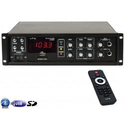 LTC PAA80BT Amplificador de Megafonia FM Bluetooth y USB-sd