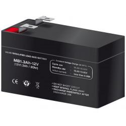 Batería plomo 12,0V/1,3Ah