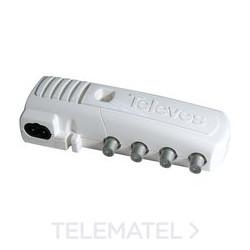 Amplificador de Vivienda 2 Salidas + TV Televes Mod 5530