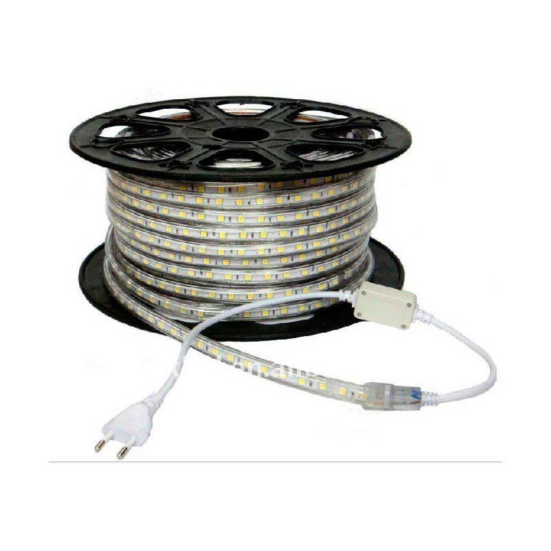 Tira led 10w 220v 60p rgb 12lm led smd5050 precio metro - Precio tira led ...