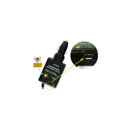 ALIMENTADOR ELECTRONICO DE 6V A 24V MAXIMO 2800 mA. Mod. 913-7542