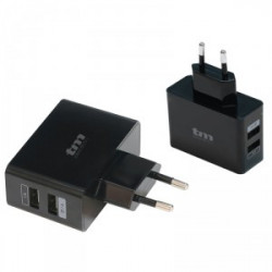 Cargador USB Dual TMUAD112BL