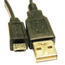 USB A Macho a Micro USB macho, 1m