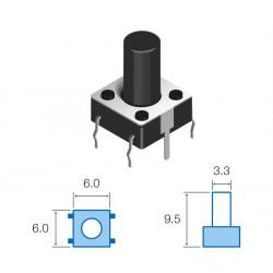 Pulsador de tacto vertical SW075