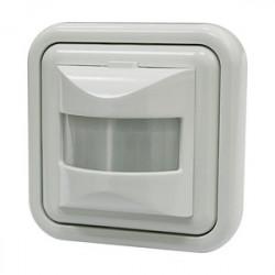 Interruptor/detector de movimiento por IR de pared