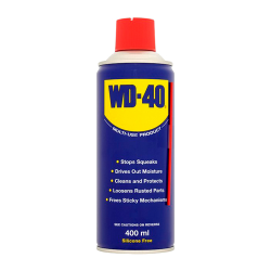 Spray multiuso (lubricante, aflojatodo, dieléctrico, 400 ml WD-40. Mod. WD40