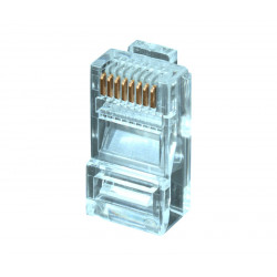 Conector modular RJ45 para datos UTP Cat.6